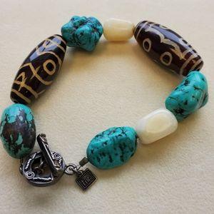 Natural Stone Tika Bracelet